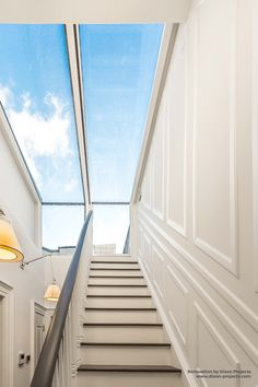 Sliding Box Roofights for Roof and Terrace Access - Walking up your and through your box allowing you access to your - Roof Access Hatch, Roof Hatch, Roof Replacement Cost, Rooftop Terrace Design, Building Stairs, Roof Extension, Melbourne House, Roof Styles, Roof Light