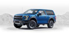 Raptor-Based 2020 Ford Bronco Concept Design By A Fan.