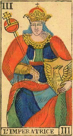 The Empress - Ancient Tarot of Liguria-Piedmont