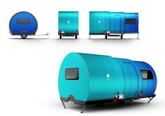 Living in a shoebox This microcamper triples its size in 25 seconds