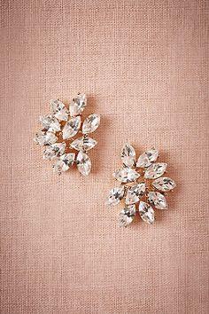 Marquee Crystal Earrings by BHLDN    Perfect Wedding or Bridesmaid Earring    Follow @KWHBridal