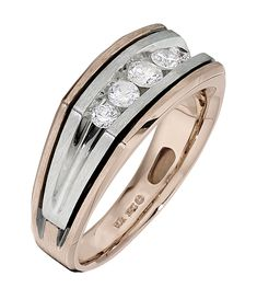 Men's diamond ring from IBGoodman. For more information, visit www.ibgoodman.com.