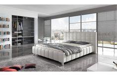 Lit design luxe - Lit de rêve - Meuble et Canapé.com Lighting Design, Mattress, Furniture, Home Decor, Dreams Beds, Tv Consoles, Lush, Light Design, Decoration Home