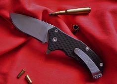 blade:N690 handle:carbon