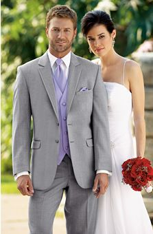 Steel Yourself: Gray is the new color for grooms' tuxedos in Las Vegas weddings | Las Vegas Wedding Blog @Kerry Aar MacGraith