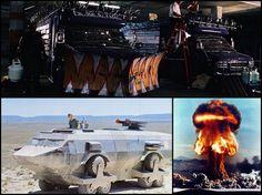 Zombie Apocalypse Motorhome The 12-wheeled landmaster apc