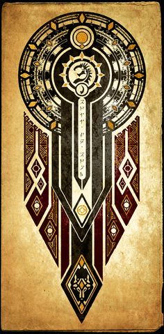 Elder Scrolls: Seal of BriiSeBrom by DovahFahliil.deviantart.com on @DeviantArt