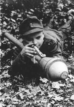 Hitler Youth, March 1945.