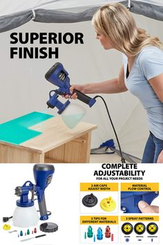 HomeRight C800971.A Super Finish Max Extra Power Painter Paint Sprayer, Multicolor 🔥🔥🔥🔥🔥🔥🔥🔥🔥🔥🔥🔥🔥🔥🔥 interior painting, paint kitchen, amy howard chalk paint, chalk paint spraypaint, painting mdf, waverly chalk paint colors, arylic painting, multicanvas painting, hvlp paint sprayer, airless paint sprayer, wagner paint sprayer, Hvlp Paint Sprayer, Best Paint Sprayer, Woodworking Hand Tools, Wood Tools, Amy Howard, Dewalt Tools, Woodturning Tools, Metal Working Tools, Antique Tools