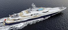 Superyacht Attessa IV – The After