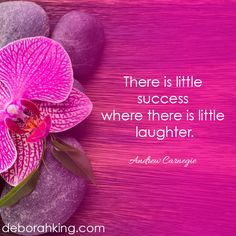 """There is little success where there is little laughter"" - Andrew Carnegie. Hugs, Deborah ‪#‎energyhealing‬ ‪#‎laughter‬ ‪#‎chakra‬"
