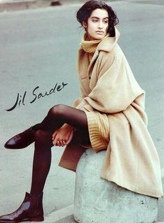 jil sander minimalisme op z'n mooist spring 1991 campagne