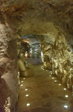 The Cave Bar in Lapad. Dubrovnik in Croatia on the Adriatic Coast