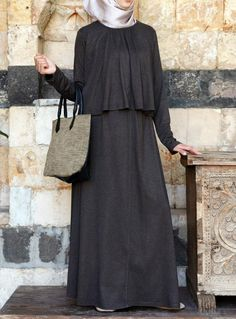 SHUKR USA | Asma Double Layered Dress