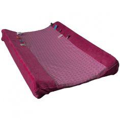 Housse de matelas à langer Happy Dressing Funky pink (45x70cm) : Snoozebaby - Housse de matelas à langer - Berceau Magique