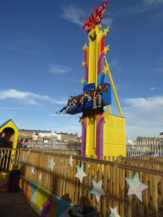 The tower ride at Dreamland Margate