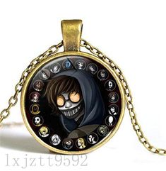 Undertale Sans Or Flowey Brass Necklace Steam Game Unique Necklace Charm Jewelry