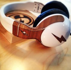 Custom wooden headphone skins we made for the SixSpeed crew.  #Woodenheadphones #woodchuckcase#woodheadphones  http://www.woodchuckcase.com/collections/beats-by-dre