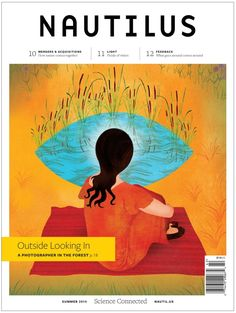 Good editorial design: Nautilus: The Best Editorial Illustration Showcase of 2014