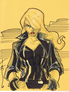 Black Canary by Hodges-Art.deviantart.com on @deviantART