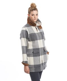 Women's Giant Buffalo Wool Coat by WOOLRICH® The Original Outdoor Clothing Company $295 less 25% today