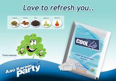 Enjoy Floral Essence of #Coollip with Best Experience...  #coollipmouthfreshner