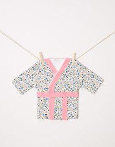 Kimono albornoz bebe Mika