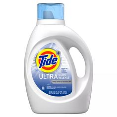 Tide Free and Gentle Liquid Laundry Detergent - Tide Tide Free And Gentle, Best Laundry Detergent, Tide Detergent, Slime, Cleaning Supplies, Laundry Supplies, Cleaning Tips, Washer, Stains