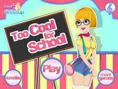 Esta chica quiere tu ayuda para que le des el tratamiento facial y lucir la chica mas Cool de la Escuela, trata de seguir bien las instrucciones para que todo salga bien.