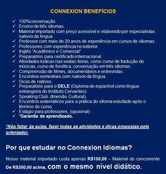 CONNEXION IDIOMAS: Connexion benefícos