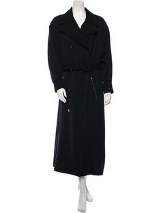 Chanel Wool Trench Coat