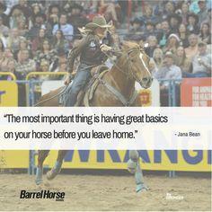 Top 10 Quotes from June's issue of Barrel Horse News #BarrelHorseNews #JanaBean