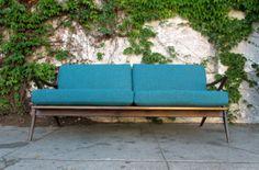 Image of Awesome Custom Mid Century Z Style Sofa