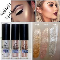 Face Makeup Glow Shimmer Liquid Highlighter