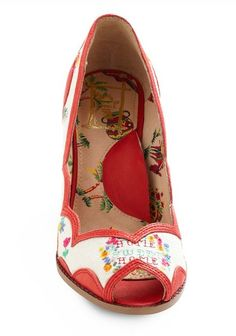 keep them in cross-stitches heel.