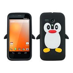 kwmobile® FUNDA de TPU para Motorola Moto G (1. Gen) Diseño de pingüino Negro Blanco etc. - Estilosa funda de diseño de TPU blando de alta calidad kwmobile http://www.amazon.es/dp/B00K866BNG/ref=cm_sw_r_pi_dp_b3TUub1FW7F9P