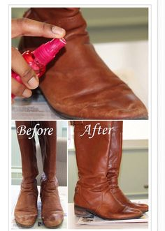 """"""" How To Make Your Old Boots Look Like New"""""""