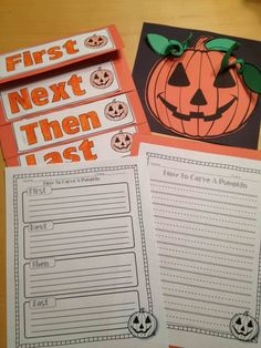 """How to"" writing and Non-fiction activities this would be perfect for my pumpkin day activities."