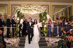 The Pierre | NYC Weddings | Photography by Berit Bizjak of Images by Berit | The Pierre Wedding Photographer | Floral Chuppa | Bride and Groom @thepierreny @CrestFlorist