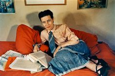 Simone de Beauvoir is often cast as only a novelist or a mere echo of Jean-Paul Sartre. Jean Paul Sartre, Les Miserables Victor Hugo, French Photographers, Comme Des Garcons, Documentary Photography, Losing Her, Paris, First Photo, Philosophy