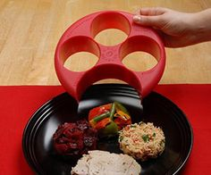 Help maintain a slim figure by having a healthy diet with the portion control plate. It fits on top of most plates and contains four separate and appropriately...