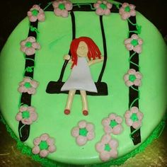 A cake for red hair girls! !!