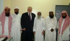 Sam with faculty of Rohingya school in South Jeddah.