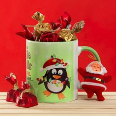 Terrific Snap Shots homemade Ceramics Mugs Popular Make the celebrations of Christmas special with an beautiful green colored ceramic Jingle bell mug Santa Claus Toys, Gift Hampers, Christmas Mugs, Jingle Bells, Christmas Decorations, Ceramics, Homemade Chocolates, Celebrations