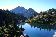 Glacier Lake, Washington; gorgeous