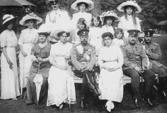 Grand Duchess Viktoria Feodorovna Romanova of Russia,Grand Duchess Olga Nikolaevna Romanova of Russia,Grand Duke Kirill Vladimirovich Romanov of Russia,Grand Duchess Tatiana Nikolaevna Romanova of Russia,Princesses Elizabeth and Olga of the Hellenes,Grand Duchesses Anastasia and Maria Nikolaevna Romanova of Russia,Grand Duchess Marie Pavlovna Romanova of Russia (the Elder),Empress Alexandra Feodorovna of Russia,Tsar Nicholas ll of Russia,Grand Duchess Elena Vladimirovna Romanova of…