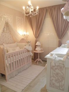 Chic baby room decoration