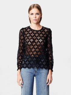 Rodebjer AW16 Keanna Lace Top