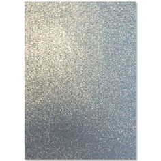 Moosgummi Glitter Silber A4 - 2 mm