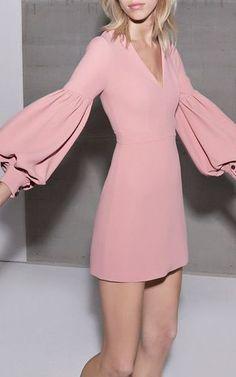 Ellena Blouson Dress by ALEXIS for Preorder on Moda Operandi: